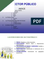 EL SECTOR PÚBLICO Y LA POLÍTICA FISCAL