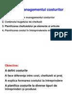 TEMA 7 Managementul Costurilor11