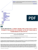 Strahlenfolter Stalking - TI - Ashlii La Wilke - Save Ashlii - CYBER CRIME ORGANIZATION USING ENERGY WEAPONS - Savehouston.wix.Com