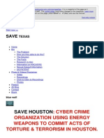 Strahlenfolter Stalking - TI - Ashlii La Wilke - CYBER CRIME ORGANIZATION USING ENERGY WEAPONS - Savehouston.wix.Com