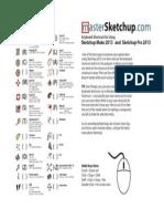 Shortcuts Sketchup Pro 2013