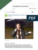 Gmail - [Nuovo Articolo] Il Ritorno Del Populismo in Macroeconomia