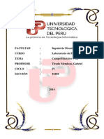 Informe 2 Campo Eléctrico y Superficies Equipotenciales UTP