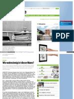 Strahlenfolter Stalking - TI - Carel Ahrens aus Hannover - Verzweifelter Akt einer gequälten Seele - 7-2012 Neue Presse
