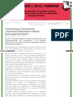 Strahlenfolter Stalking - TI - Faschistische Organisationen verbieten - Hintergründe des rechten Terrors - ljshannover.blogsport.de