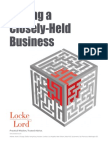 Selling a Closely-Held Business (2013)