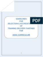 ASDC Accreditation Guidelines