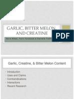 garlic-creatine-bittermelon-finalppt