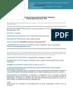 IPSF ARForm. Sectional Bolivar HIV.aids