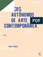 ESPAÇOS AUTÔNOMOS DE ARTE CONTEMPORÂNEA