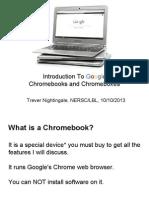 Chrome OS Presentation Tech Talk