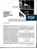 36096814 Bond F C 1961 Crushing and Grinding Calculations