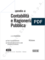 Contabilità e Ragioneria Pubblica