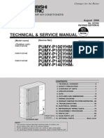 PUMY-P100-140YHM Technical & Service Manual (OC355revB)