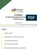 Presentación Colombia - Abril 2012