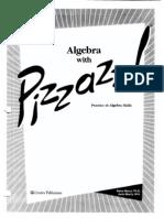 Pizzazz Algebra