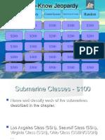 Submarine Warfare Jeopardy