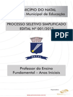 Professor Do Ensino Fundamental Anos Iniciais