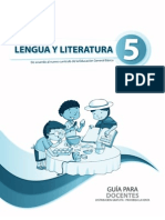 Guia Lengua Quinto Ano