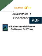 Pans Labyrinth Character Desc
