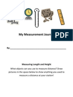 my measurement journal