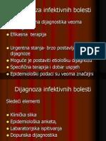 Dijagnoza inf.bolesti