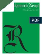 Rappahannock News Media Kit 2014
