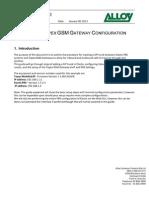 Topex GSM Gateway and Elastix Configuration