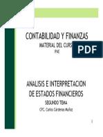 Ipae - Contabilidad y Finanzas - Separata - Analisis de Los Estados Financieros