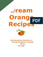 Dream Orange Recipes