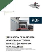 Administracion de Talleres NORMA COVENIN