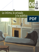 Lo Intimo, Lo Privado y Lo Publico