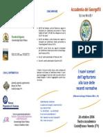 Brochure Convegno Agriturismo 26ott20