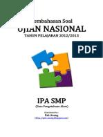 Pembahasan Soal UN IPA SMP 2013