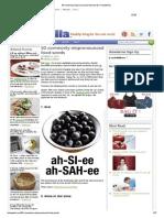 50 Commonly Mispronounced Food Words _ HellaWella