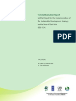 Terminal Evaluation Report for the Project for the Implementation of the Sustainable Development Strategy for the Seas of East Asia (SDS-SEA)