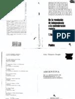 Halperin Donghi - Historia Argentina - De la revolución de independencia a la confederación rosista