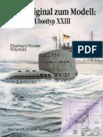 From Original to Model German U Boot Type XXIII