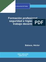 FormaciA3n Profesional, Seguridad e Higi - Babace, HA(c)Ctor(Author)