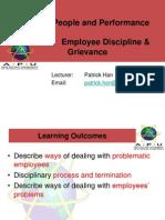 WEEK 14 Employee Discipline Grievance (1)