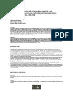ESTUDIO DE LOS NIVELES DE ANSIEDAD ENTRE LOS ESTUDIANTES DE LA FACULTAD DE ODONTOLOGÍA DE LA UNMSM DURANTE EL AÑO 2002