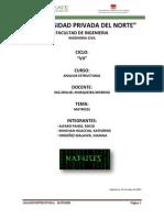 Matrices Analisis Yanis