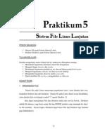 5. Sistem File Linux Lanjutan