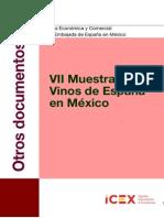 VII Muestra de vinos de España en México 2013
