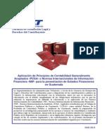 1261 Aplicacion de Pcga o Normas Nic Niif en Guatemala