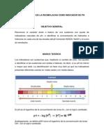 PRÁCTICA USO DE LA REOMOLACHA COMO INDICADOR DE PH