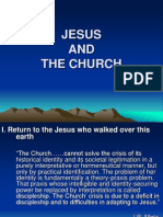 Jesus and the Church