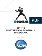 2011 Postseason Football