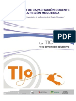 Las TICs y Su Dimension Educativa 01