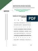 TESIS-Manual de Fabricacion de Tabicon Solidos de Concreto